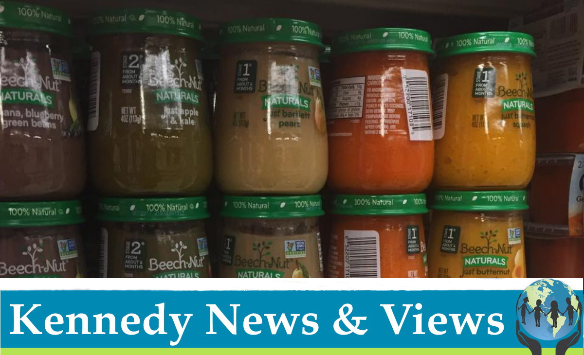 Robert F. Kennedy, Jr. and Children's Health Defense Bring Legal Action Against Beech-Nut Nutrition Company Concerning Misrepresentation That Their Naturals Baby Foods are 100% Natural • Children's Health Defense