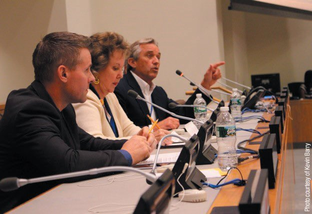 TRACE AMOUNTS AT THE U.N.—Mr. Kennedy participated in a panel discussion following the United Nations screening of the film on August 27, 2015