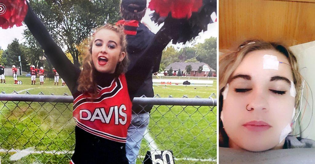 La vida de Ashley Dalton dio un giro drástico cuando recibió tres inyecciones de Gardasil.