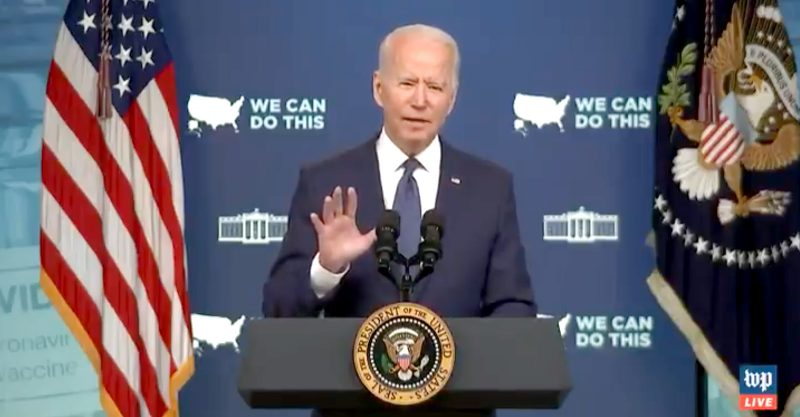 Biden announced plans to ramp up the federal government's efforts to get more Americans vaccinated against COVID.