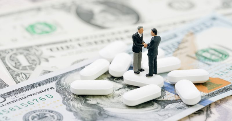 Spending on pharmaceutical industry lobbying reached a record amount in 2020.