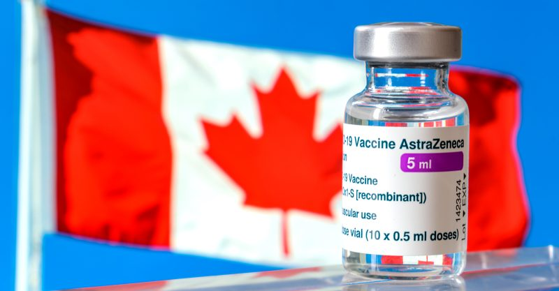 According to CBC News, Canada has reported seven cases of blood clots following immunization with AstraZeneca