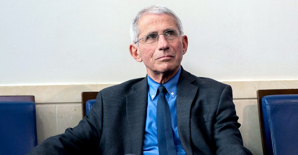 Dr. Anthony Fauci became the highest paid federal employee, with an annual salary significantly higher than the President of the U.S.