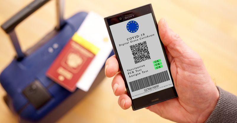Certificat numérique COVID de l'UE
