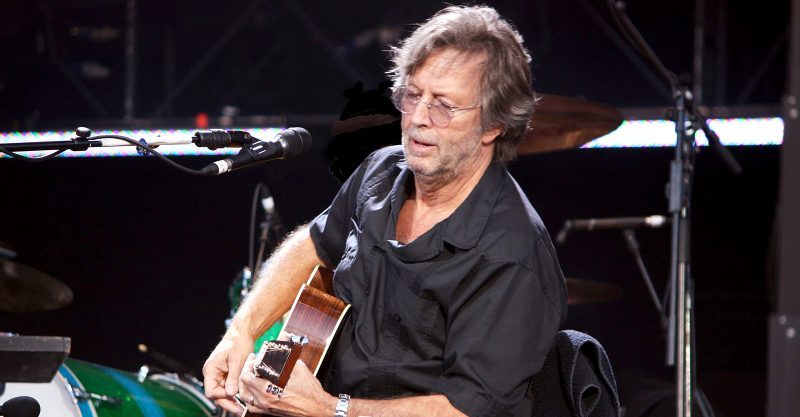 """Eric Clapton said he had a """"disastrous"""" health experience after receiving the AstraZeneca COVID vaccine."""