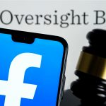 Facebook has total control over a user's ability to appeal to the oversight board.