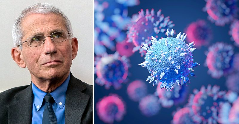 Dr. Anthony Fauci said the continued spread of COVID among the unvaccinated could lead to a more serious disease.