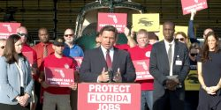 Florida Gov. Ron DeSantis today called for a special session of the Florida legislature to help write laws to protect the rights of workers and combat vaccine mandate policies.