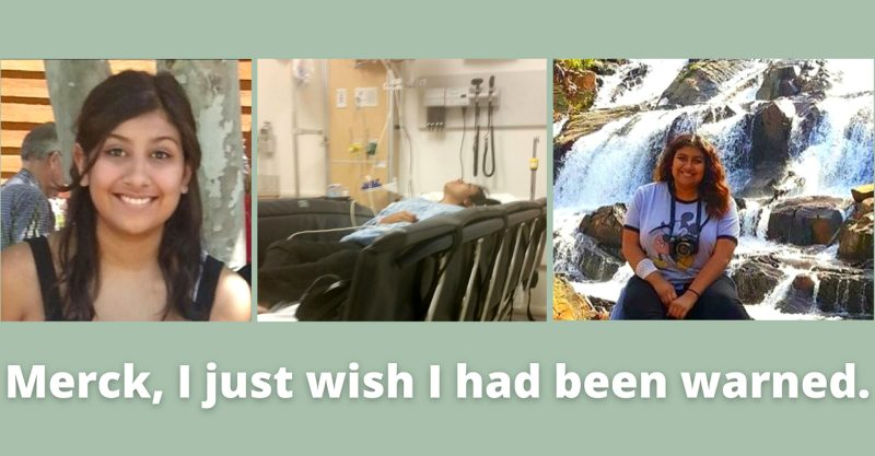 Kayla Carrillo was 12 when she received the Gardasil HPV vaccine.