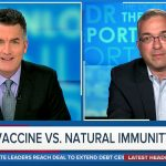 Joe Donlon interviewed immunologist and public health advocate Dr. Hooman Noorchashm, who explained there are no data proving vaccine immunity is superior to natural immunity.