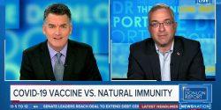 Joe Donlon entrevistó al Dr. Hooman Noorchashm, inmunólogo y defensor de la salud pública, quien explicó que no hay datos que demuestren que la inmunidad de las vacunas sea superior a la natural.