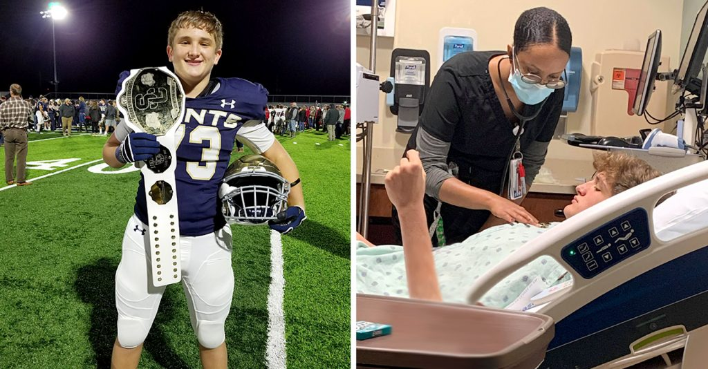 Isaiah Harris, an 18-year-old from Springdale, Arkansas, had a heart attack after receiving his second dose of Pfizer's COVID vaccine.