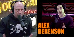 Alex Berenson, who was permanently suspended from Twitter, appeared on 'The Joe Rogan Experience.'