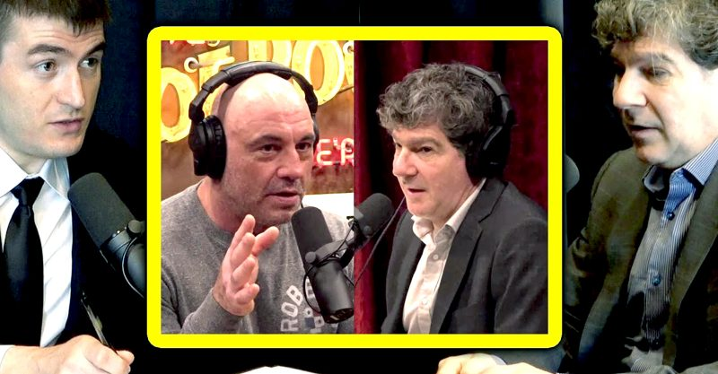 """Joe Rogan did an """"emergency podcast"""" with evolutionary biologist Bret Weinstein, Ph.D. and critical care specialist Dr. Pierre Kory."""