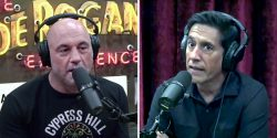 """On the latest episode of """"The Joe Rogan Experience"""" podcast, host Joe Rogan and Sanjay Gupta, CNN's chief medical correspondent, went head to head on a number of COVID-related topics."""