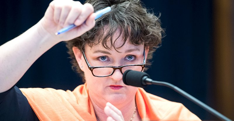 The wonderful Rep. Katie Porter provides a signal moment in congressional history.