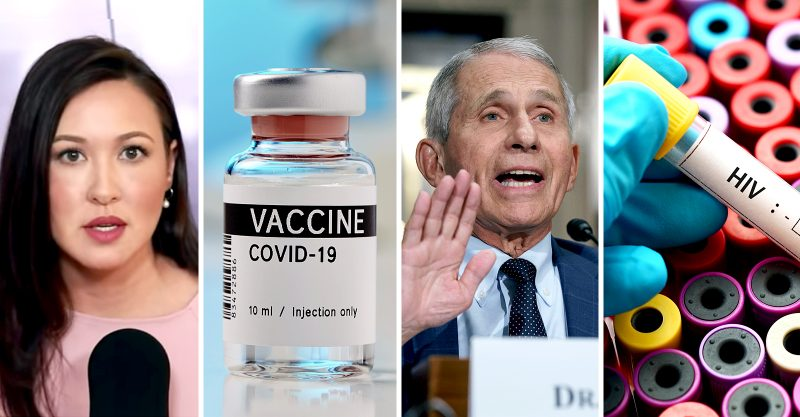 """In a new video on The Hill's """"Rising,"""" political commentator Kim Iversen analyzes Dr. Anthony Fauci's support for azidothymidine (AZT) to treat HIV/AIDS."""