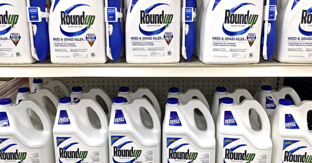 New York State is set to prohibit the use of glyphosate on all state property