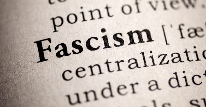 "we have indeed,We have arrived at ""Step Ten"" of the 10 steps to fascism."