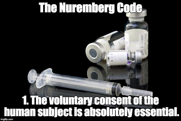 Meme of Nuremberg Code