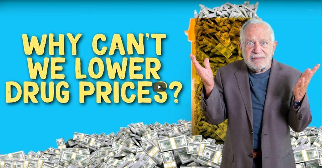 """""""Siga el dinero"""", dijo Reich en un vídeo reciente, """"Conozca a los demócratas que mantienen alto el precio de sus medicamentos""""."""