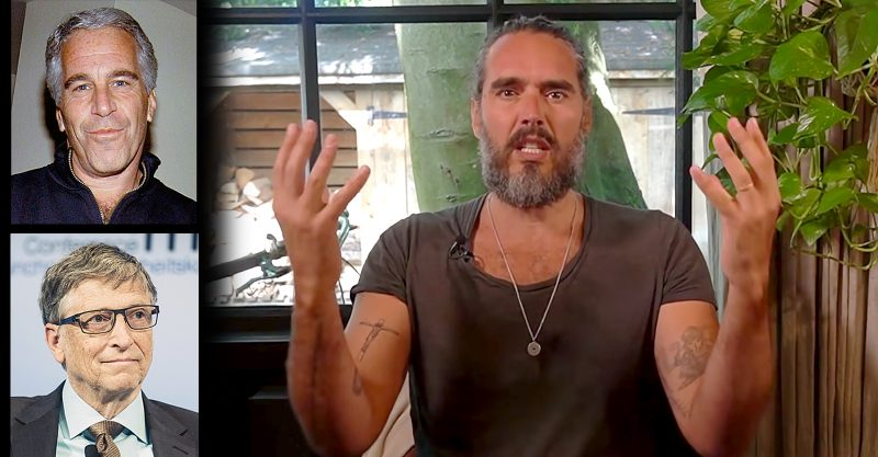 Russell Brand Brand points out the ludicracy of glamorizing people like Jeffrey Epstien and Bill Gates and their so-called philanthropic work.