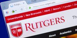 """Un abogado de Nueva Jersey acusó la semana pasada a los responsables de la universidad de Rutgers de enviar comunicaciones """"falsas y engañosas"""" a los estudiantes."""