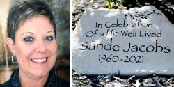 """Sandra Jacobs """"appears to have succumbed"""" to a """"rare but nevertheless documented"""" complication associated with the viral vector vaccine."""