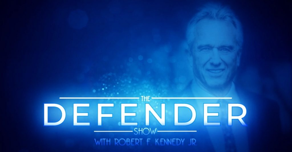 """Dr. Zach Bush on """"The Defender Show"""" with host, Robert F. Kennedy, Jr."""