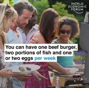 WEF limit protein foods