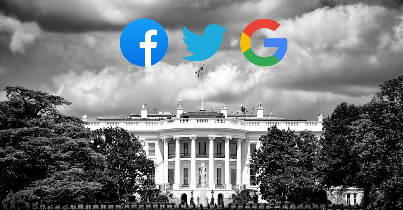 """Social media tycoons are now openly serving as government surrogates in censoring factually accurate information ..."""