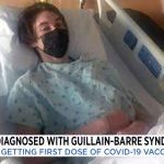 Unas semanas después de recibir la vacuna, McGlaun se debilitó y tuvo dificultades para caminar.