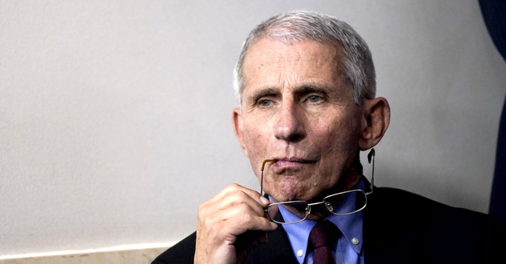 """Fauci has the """"pharmaceutical industry's best interest at heart,"""" not the public's."""