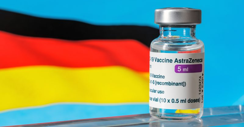 Authorities in Munich and Berlin today suspended use of AstraZeneca's COVID vaccine for those under 60.