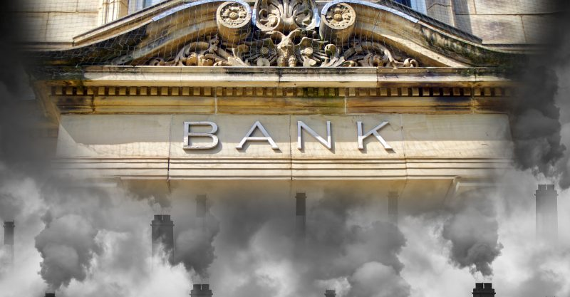 """Bankers too often have vested interests in pumping up the carbon bubble ..."""