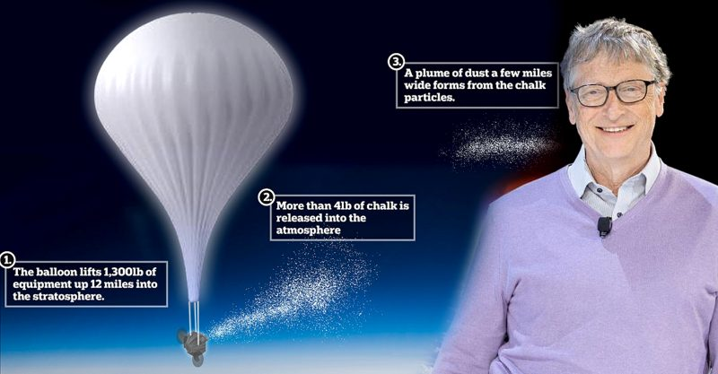 SCoPEx intends to release around a kilogram of calcium carbonate, essentially chalk dust, from a propelled balloon-gondola rig.