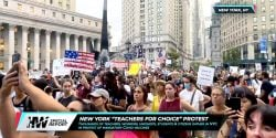 Over the last several weeks, hundreds of thousands of protestors worldwide have taken to the streets to protest vaccination mandates and medical segregation.