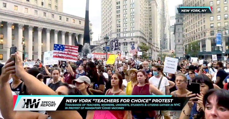 Negli ultimi mesi, centinaia di migliaia di manifestanti in tutto il mondo sono scesi in strada per protestare contro gli obblighi vaccinali e la segregazione medica.