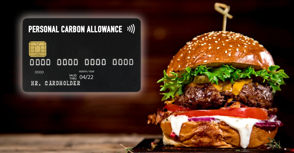 Your purchase is declined. No hamburger for you.