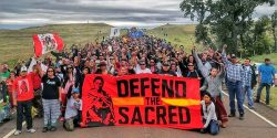 """The Dakota Access pipeline violates treaty rights and endangers land, water and communities."""