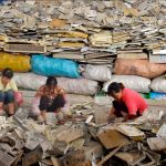 E-waste can end up in massive digital dumps in the Global South, exposing children who pick out valuable metals from the trash to more than 1,000 toxic substances.