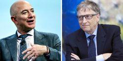 Lockdown has netted Bezos $70 billion and Bill Gates, $20 billion.