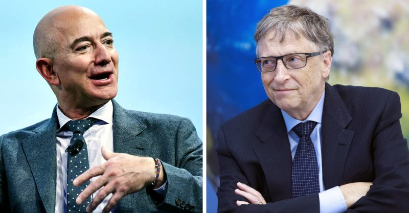 Lockdown has netted Bezos $70 billion and Bill Gates, $20 billion.