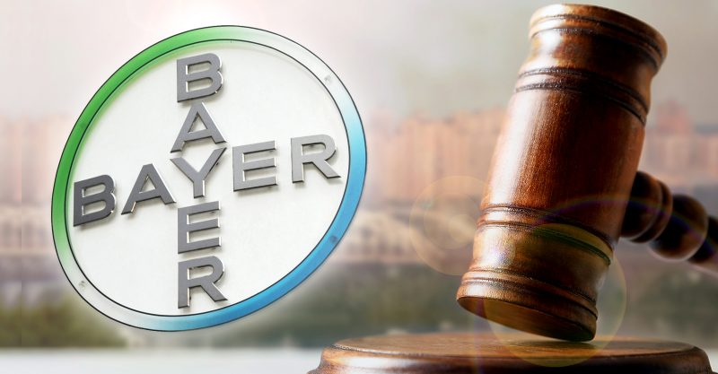 glyphosate-based herbicide products such as Roundup that Bayer inherited in the acquisition. Cancer victims have won three trials held to date.