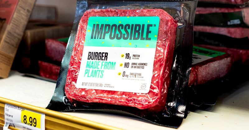DA Failed to Safety Test Fake Blood Additive in Impossible Burger.