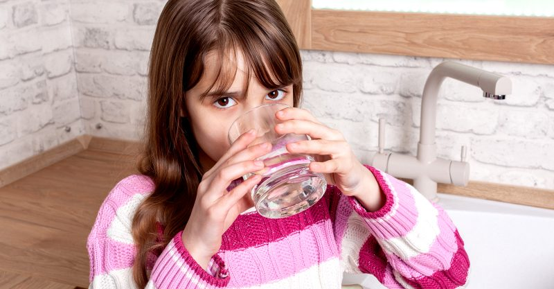 High concentrations of strontium can stunt bone growth in children who lack adequate calcium intake.