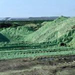 Una pila de pesticidas Mead, Nebraska. Crédito de la imagen: Carey Gillam