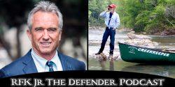 """John Wathen, guardián del """"Hurricane Creek"""", ha dedicado su vida a la limpieza de los cursos de agua."""