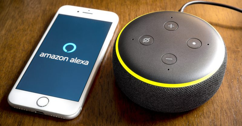 Bloomberg News reported that Amazon planned to release an Alexa-enabled tracking device for children.