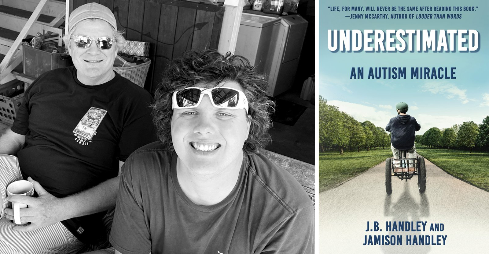 """CHD is hosting a virtual book signing for """"Underestimated: An Autism Miracle."""""""